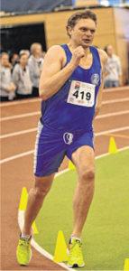 Jörg Köpke holte den Landestitel über 400 Meter. WEGERICH