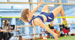 Die Fahrdorferin Kim Eschen übersprang in Hamburg 1,52 Meter. WEGERICH